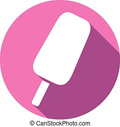 ice cream flat icon