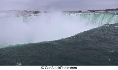 Niagara falls shot ten winter time