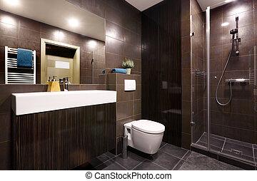 Interior - private bathroom - Interior - modern private...
