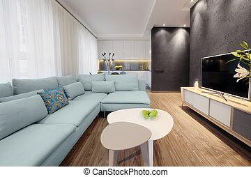 Interior - sitting room - Interior - modern design of a...