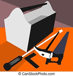 Tools - Illustration of a toolbox