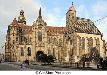 St Elisabeth Cathedral slovak: Dom svatej Alzbety, in...