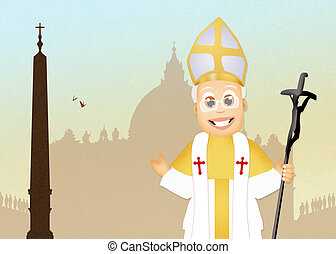 illustration of Pope