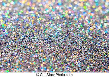 glitter shiny background a blurred - multicolored shiny...
