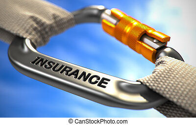 Chrome Carabine Hook with Text Insurance - Insurance on...