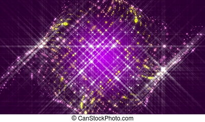 purple abstract background, loop