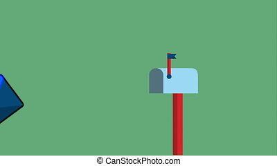 post mail service design, Video Animation HD1080