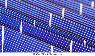 Solar panel cell components