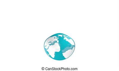 tourism concept design, Video Animation HD1080