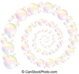 Soap Bubbles Spiral