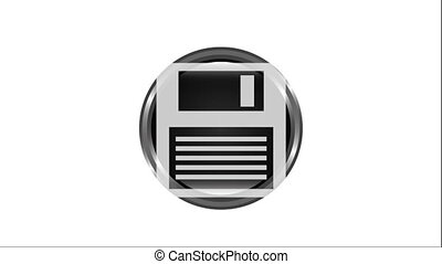 save button design, Video Animation HD1080