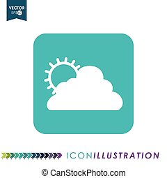 wheater icon design - icon concept with wheater icon design,...