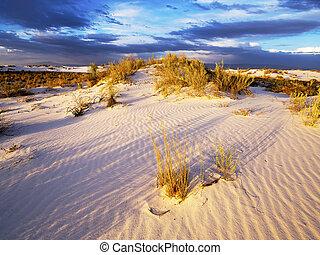 Whitesand National Monument Sunset