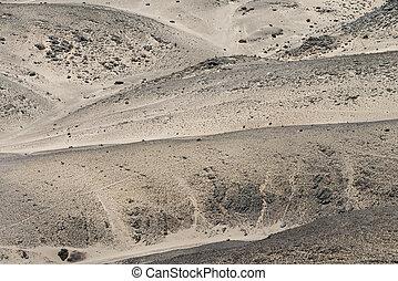 Rocky Desert at the Skelleton Coast (Namibia) - Rocky Desert...
