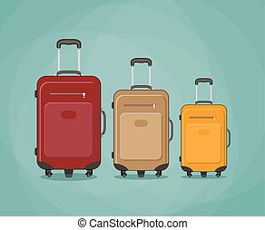 three Travel bag