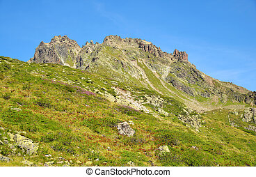 Mountains above Klosters - Swiss - Mountains above Klosters...