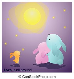 Cute Animals Collection Love is all around 7