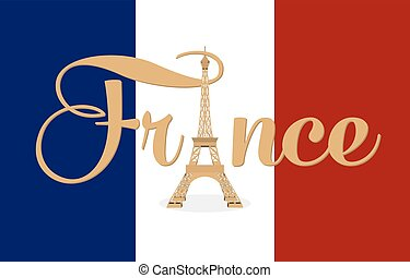 Pray for Paris, 13 November 2015. Abstract creative concept...