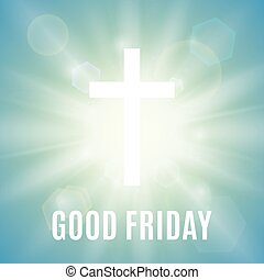 Good Friday background. - Good Friday. Background with white...