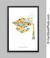 Vectot object in frame - Abstract Creative concept vector...