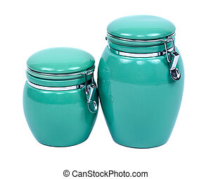 Ceramic kitchen containers