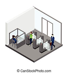 Underground Entrance Illustration - Underground entrance...