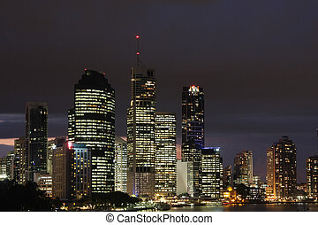 Nightscape - City of Brisbane