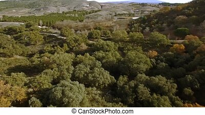 4K Aerial, Andalusian Landscapes, Spain - Series of...