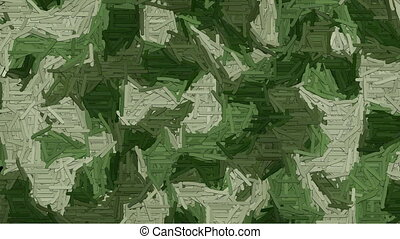 Animated dash camouflage background - Random animated dashes...