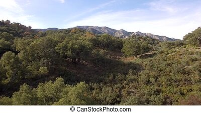4K Aerial, Andalusian Landscapes, S - Series of different...