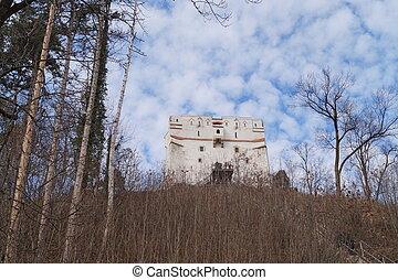 White tower (Turnul alb), Romania, Transylvania, Brasov