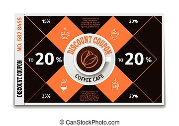 Coffee cup discount coupon