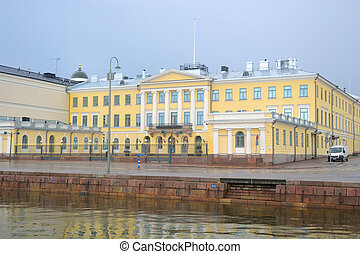 Presidential Palace in Helsinki. - Building of Presidential...