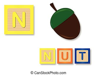 N Is For Nut
