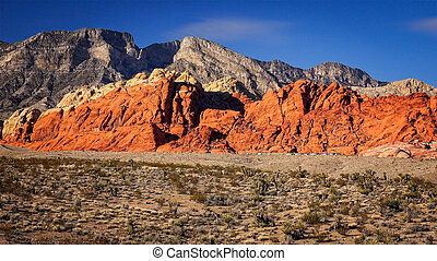 Red Rock Canyon in Las Vegas - The Red Rock Canyon National...