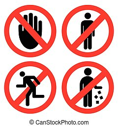 Set ban icons