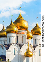 Assumption Cathedral in Yaroslavl, Russia - Assumption...