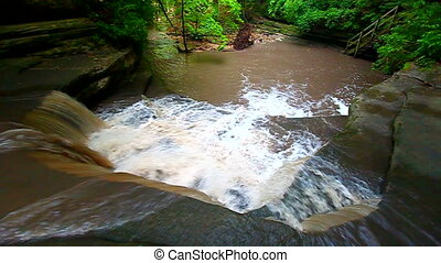 Giants Bathtub Matthiessen Park - Giants Bathtub Cascade at...