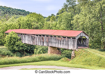 Knowlton Covered Bridge - Built in 1887, Ohio's Knowlton...