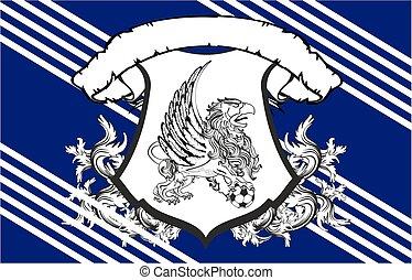 gryphon soccer crest background2 - gryphon soccer crest...