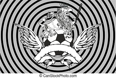 gryphon soccer crest background5 - gryphon soccer crest...