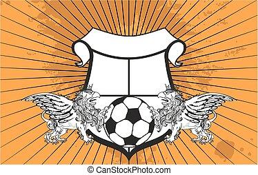 gryphon soccer crest background8 - gryphon soccer crest...
