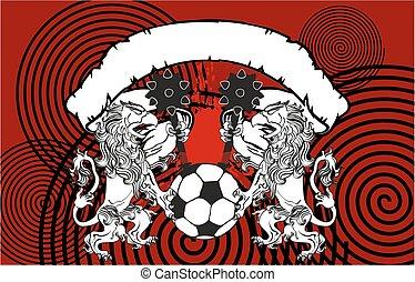 gryphon soccer crest background9 - gryphon soccer crest...