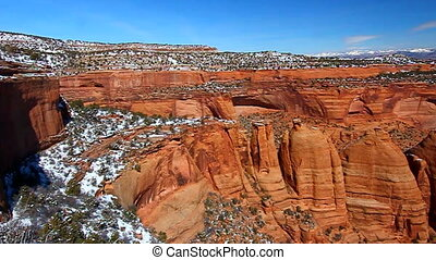 Artists Point Colorado - Rock formations of Artists Point...
