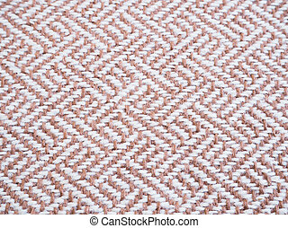 Beige tweed fabric pattern