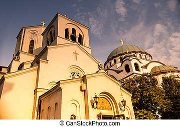 Orthodox Church of Saint Sava Serbia, Belgrade - Church of...
