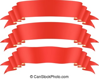 Red tape  - Red tape, design element