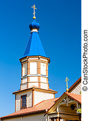 wooden Orthodox church of Saint James, Losinka, Podlaskie...