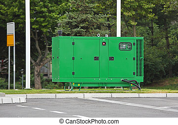 Electric Generator - Auxiliary Diesel Generator for...