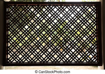 Lattice Window - Traditional Style of Architecture